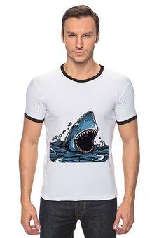 """Футболка Рингер """"Акула"""" - акула"""