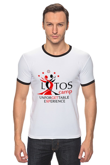 "Футболка Рингер ""Unforgettable Experience Tees"" - lotos, тск лотос, lotos camp"