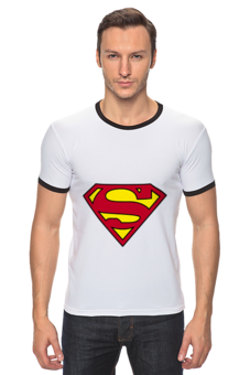 "Футболка Рингер ""Superman"" - superman"