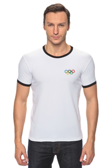 "Футболка Рингер ""Sportsmen"" - sportsmen"