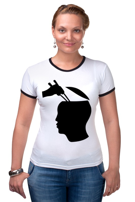Футболка Рингер Printio Палочки для суши футболка wearcraft premium printio палочки для суши