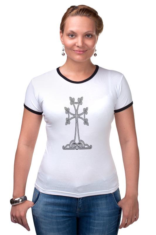 Футболка Рингер Printio Армянский крест футболка для беременных printio армянский крест