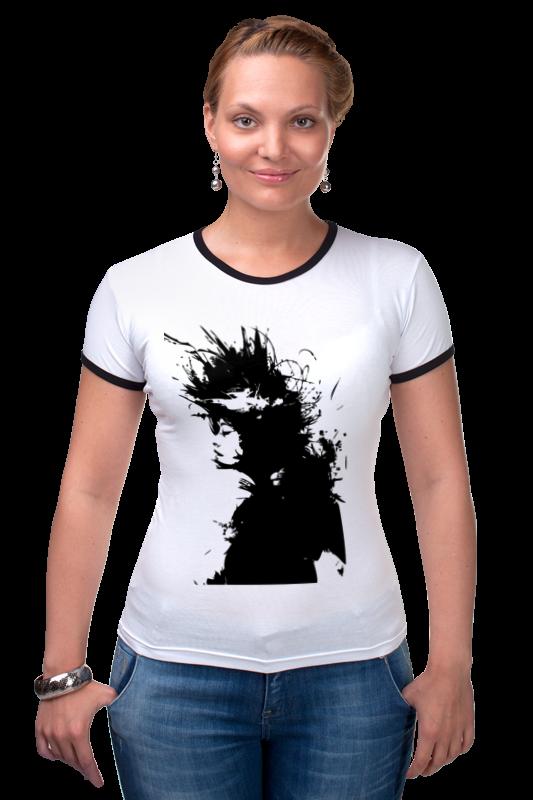 Футболка Рингер Printio Girl black&white футболка рингер printio tatoo girl