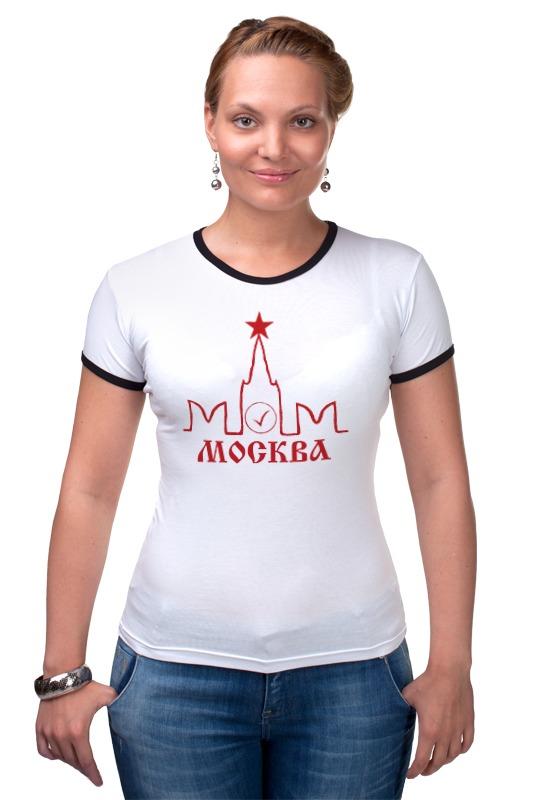 Футболка Рингер Printio Москва элитная трехкомнатная квартира москва купить