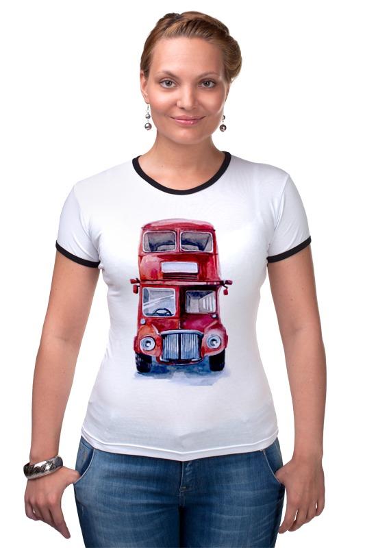 Футболка Рингер Printio London bus футболка рингер printio samba bus