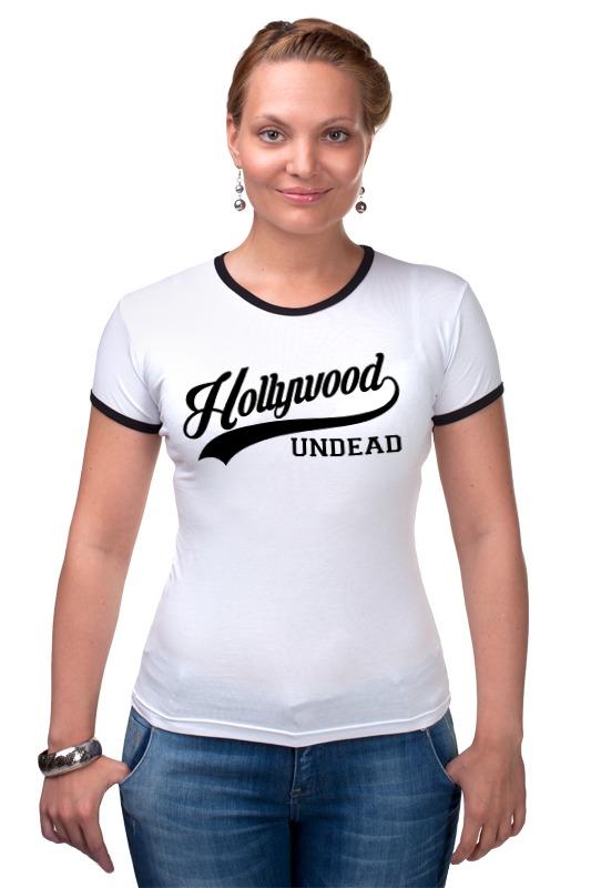Футболка Рингер Printio Hollywood undead спорт футболка стрэйч printio hollywood undead