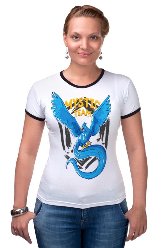 Футболка Рингер Printio Mystic team exclusive (муж.)