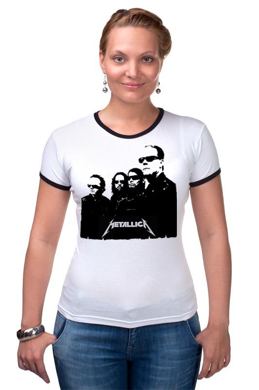 Футболка Рингер Printio Metallica футболка рингер printio спиннер