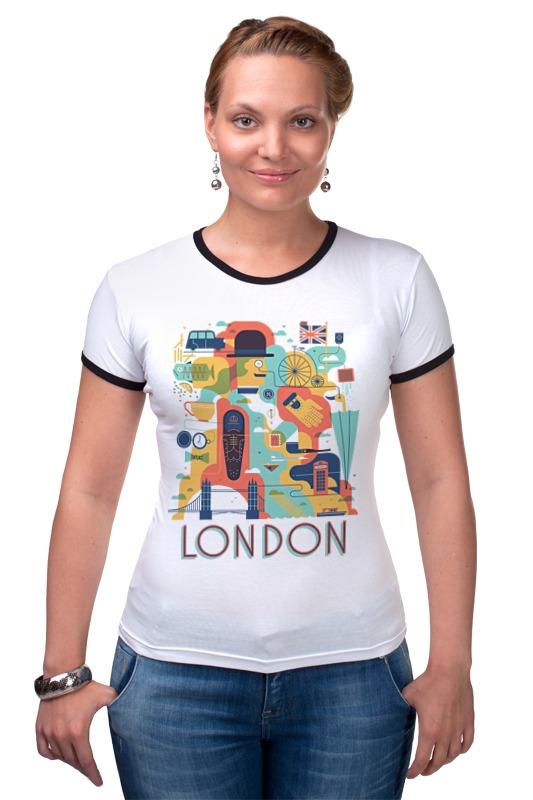 Футболка Рингер Printio Лондон как дешевые билеты в лондон