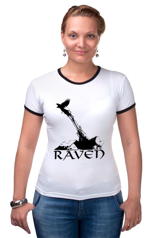 Футболка Рингер Printio Raven brand adriatica часы adriatica 3143 2113q коллекция twin
