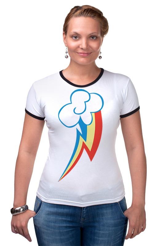 Футболка Рингер Printio Rainbow dash / рейнбоу дэш футболка стрэйч printio rainbow dash рейнбоу дэш