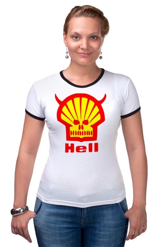 Футболка Рингер Printio Ад (hell) bprd hell on earth v 7