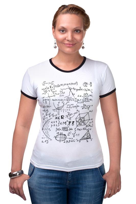 Футболка Рингер Printio Математика, физика, формулы елена александровна власова олимпиада школьников шаг в будущее математика физика