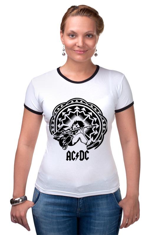 Футболка Рингер Printio Ac/dc - spasm футболка print bar ангус янг соло гитарист