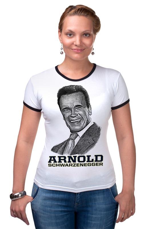 Футболка Рингер Printio Arnold schwarzenegger футболка рингер printio arnold schwarzenegger