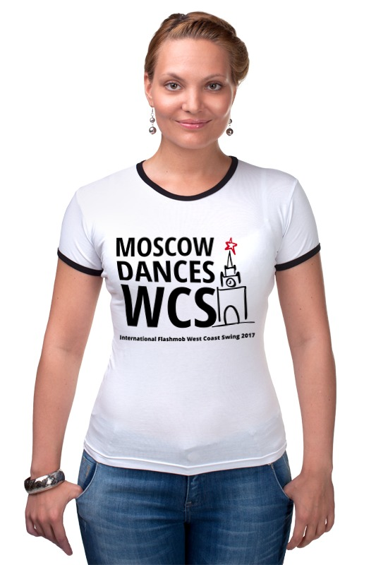 Футболка Рингер Printio Moscow dances wcs (ifwcs 2017)