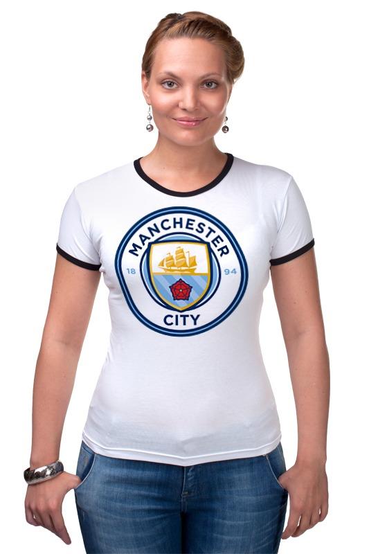 Футболка Рингер Printio Manchester city тдм sq0515 0122