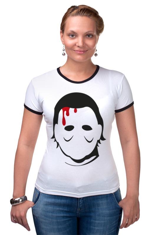 Футболка Рингер Printio Кожаное лицо футболка стрэйч printio кожаное лицо