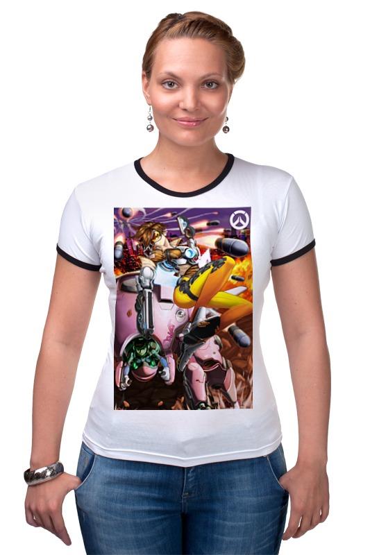 Футболка Рингер Printio Overwatch printio футболка рингер
