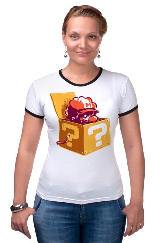 Футболка Рингер Printio Марио футболка рингер printio патриоты