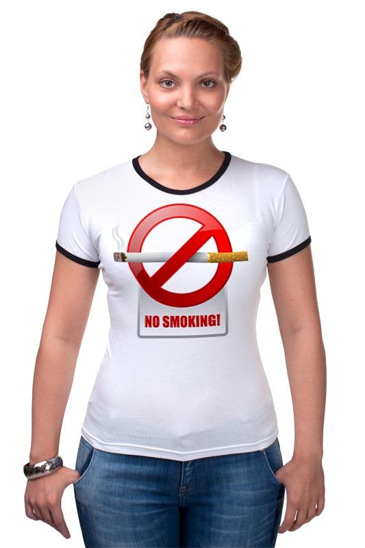Футболка Рингер Printio No smoking футболка wearcraft premium printio no smoking