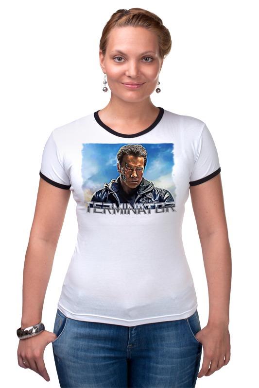 Футболка Рингер Printio Terminator футболка рингер printio авто уаз