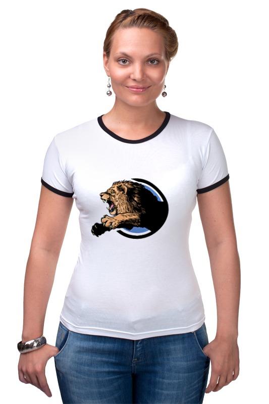 Футболка Рингер Printio Царь зверей футболка классическая printio лев царь зверей
