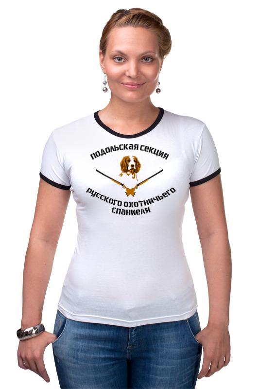 Футболка Рингер Printio Логотип подольская секция рос рос