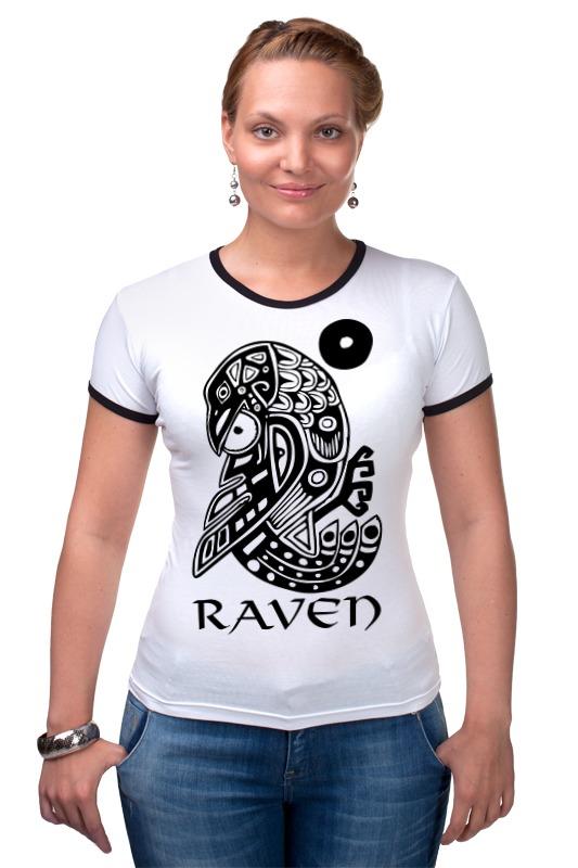 Футболка Рингер Printio Raven brand raven raven extermination 2 lp