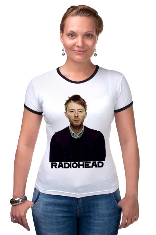 Футболка Рингер Printio Radiohead radiohead radiohead x posed the interview