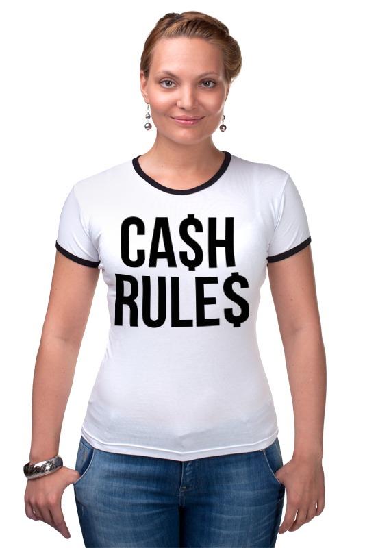 Футболка Рингер Printio Наличные (cash) palmer cash футболка