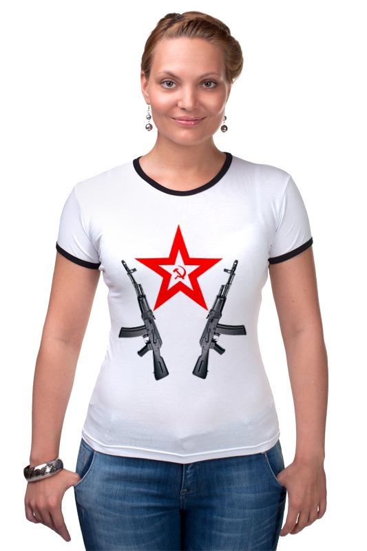 Футболка Рингер Printio Redstar ak автомат калашникова пневматический в москве