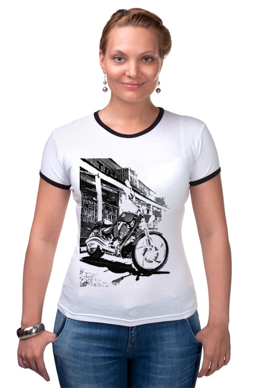 Футболка Рингер Printio Мотоциклы