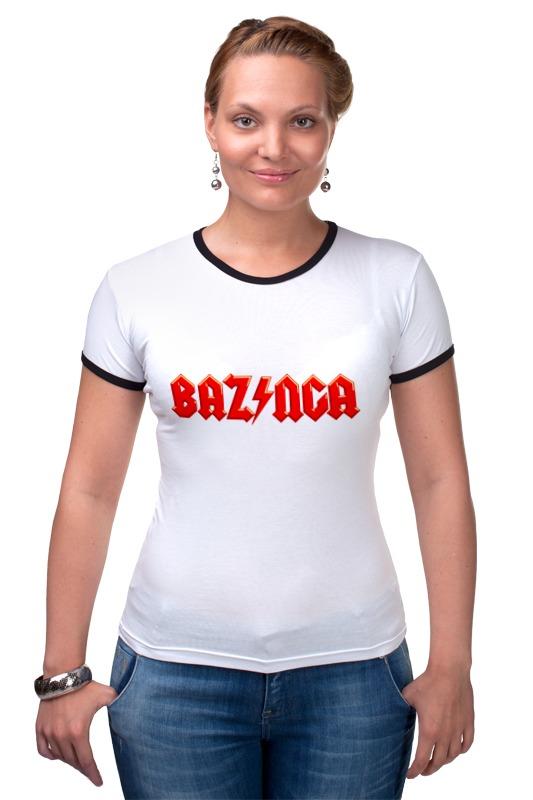 Футболка Рингер Printio Bazinga! (базинга) футболка рингер printio война никогда не меняется