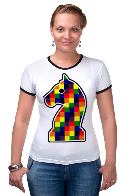Футболка Рингер Printio Конь (шахматы) какой фирмы лучше фигурные конь