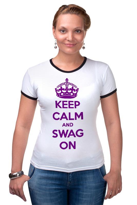Футболка Рингер Printio Keep calm футболка wearcraft premium printio keep calm