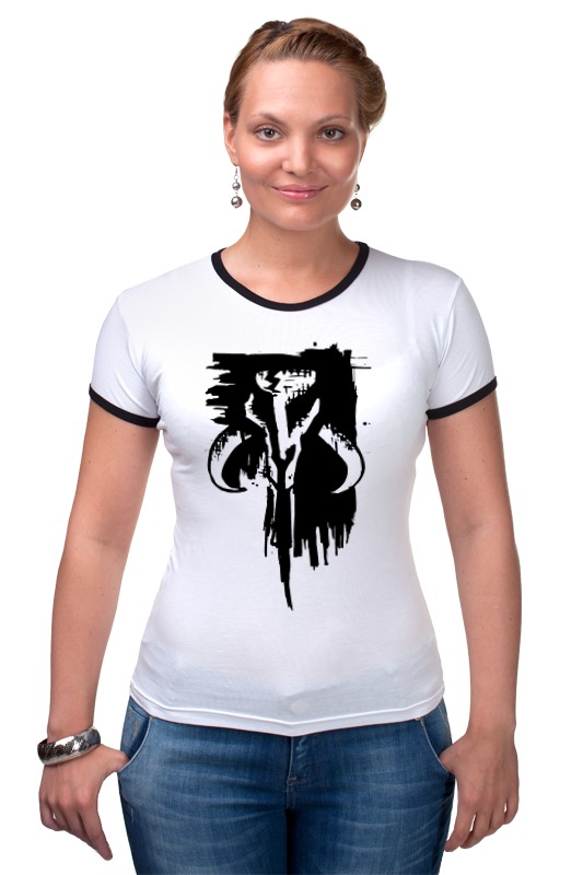 Футболка Рингер Printio Mythosaur футболка для беременных printio the skull of a hero