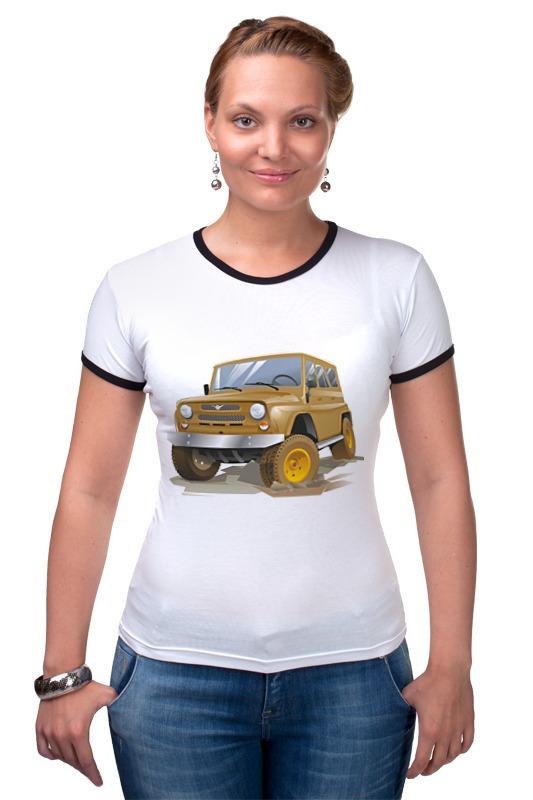 Футболка Рингер Printio Автомобиль уаз автомобиль уаз 469 в спб