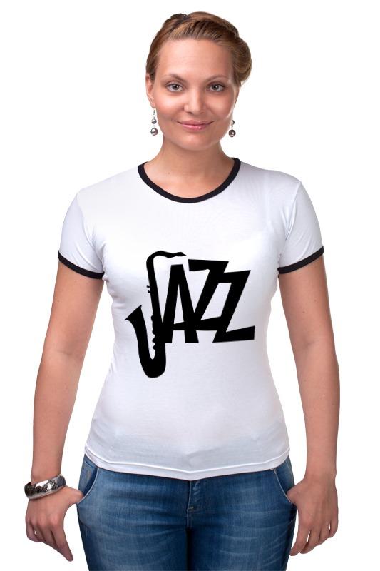 Футболка Рингер Printio Джаз (jazz)