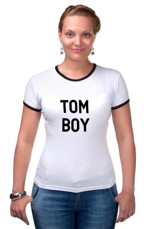 Футболка Рингер Printio Tom boy футболка классическая printio tom boy