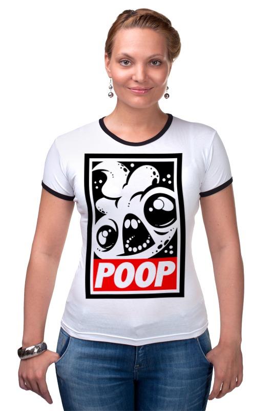 Футболка Рингер Printio Какаха (poop)