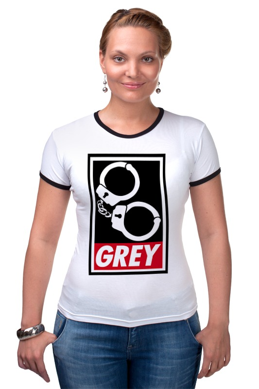 Футболка Рингер Printio 50 оттенков серого (fifty shades of grey) fifty shades darker