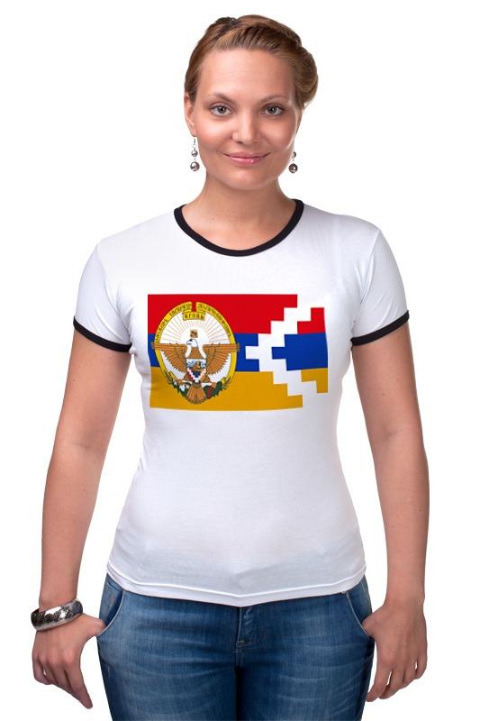 Футболка Рингер Printio Карабах арцах футболка рингер printio республика кабардино балкария нальчик