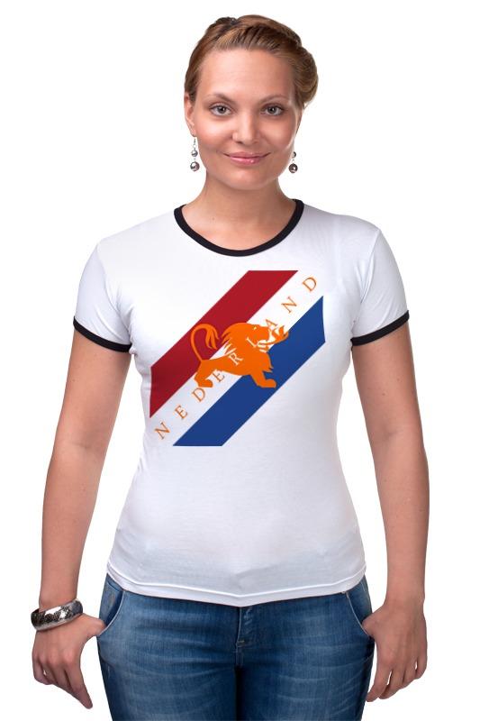 Футболка Рингер Printio Нидерланды футболка стрэйч printio нидерланды