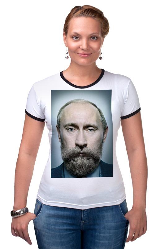 Футболка Рингер Printio Путинизм printio футболка рингер