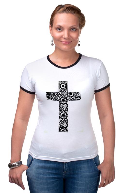 Футболка Рингер Printio Крест лонгслив printio армянский крест