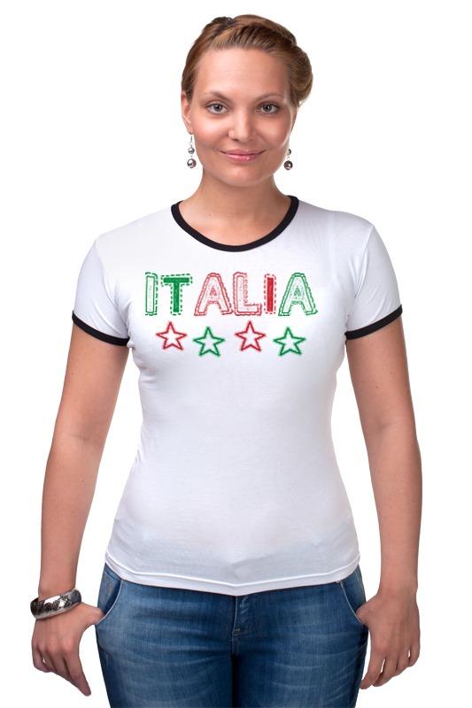 Футболка Рингер Printio Италия италия
