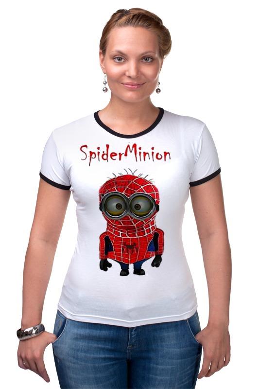 Футболка Рингер Printio Spider minion лонгслив printio spider minion