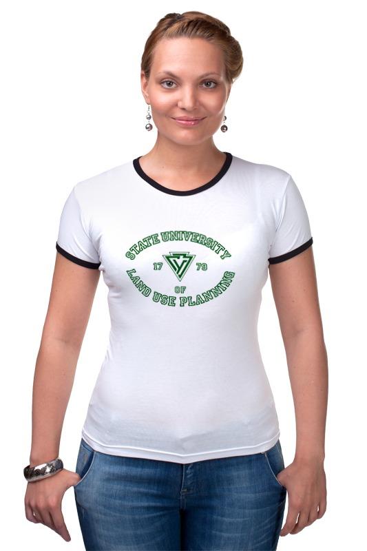 Футболка Рингер Printio Футболка женская гуз футболка runika футболка женская