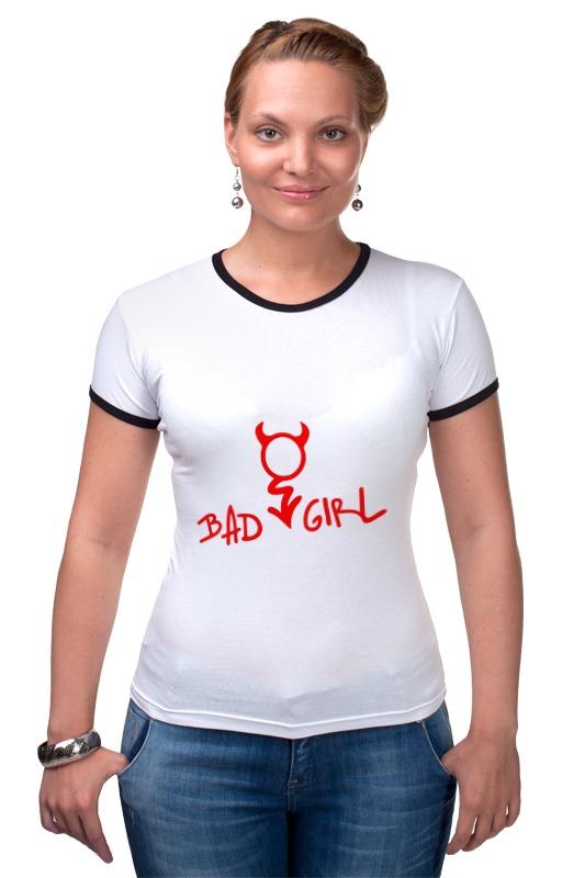 Футболка Рингер Printio Bad girl (плохая девченка) футболка рингер printio tatoo girl